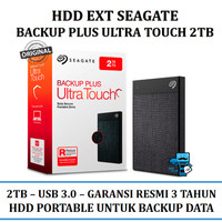 Harddisk External Seagate Backup plus Ultra Touch 2TB