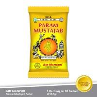 Air Mancur Param Param Mustajab Padat Sachet 10x12.5 gr - Renteng
