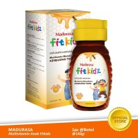 Madurasa Fitkidz Botol 140gr PET Multivitamin Anak