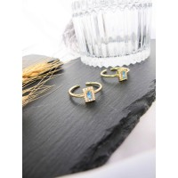 DearMe - ALICE Ring (S925 Silver with Crystals & 18K Gold Plating)