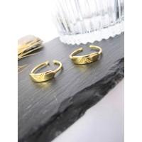 DearMe - HAZEL Ring (925 Sterling Silver with 18K Gold Plating)