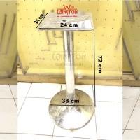 Table Leg Kaki Meja WINSTON Atas Kotak Bawah Bulat Lingkar Tipe 1703