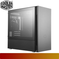 Cooler Master - Silencio S400 / Micro ATX PC case Tempered Glass