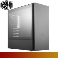 Cooler Master - Silencio S600 / ATX PC case Tempered Glass