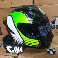 AGV K1 Power Gunmet Green - New from AGV