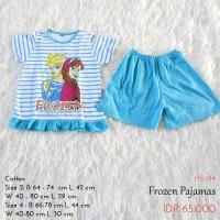 Piyama Anak Cewek - Frozen Pajamas