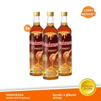 Beli 3 Madurasa Premium Madu Royal Jelly Bee Polen 910 GR