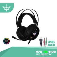 Headset Gaming RGB NYK Rubick HS - N09