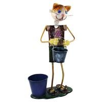 Vas Boneka Model Kucing / Vas Antik / Vas Unik / Boneka Cantik