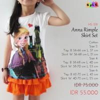 Setelan Anak Perempuan SALE - Set Anna Rimple Skirt