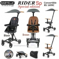 Babyelle RIDER SP Special Edition Leather kulit BABY ELLE cabin size