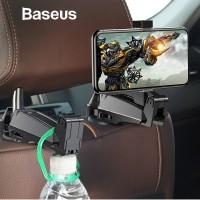BASEUS CAR BACK SEAT PHONE HOLDER GANTUNGAN HANGER MOBIL ORGANIZER
