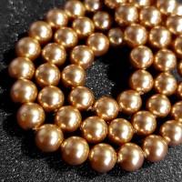 Swarovski Pearl 5mm - Bright Gold Mutiara