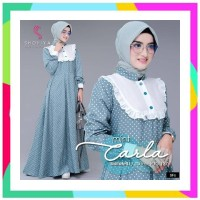 Ready stok Dress carla wd