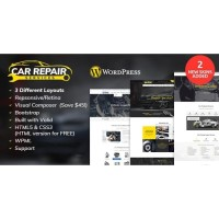 Theme Wordpress Car Repair Services Auto Mechanic v2.8