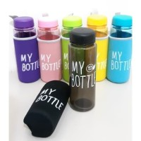Botol Minum My Bottle Full Warna 500ml Free POUCH BUSA TALI