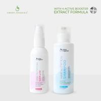 Paket Combo 3 Green Angelica - Vitamin Rambut Rontok, Kering dan Rusak
