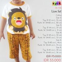 Setelan Anak Laki-laki - Lion Set