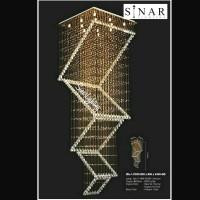 Lampu gantumg senar LED VOID 835/80cm x 2.5 meter