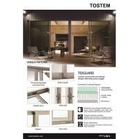 Jual TOSTEM Aluminium Pintu Geser 2 Daun (Sliding Door), L ...