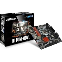 Motherboard Komputer / Laptop BIG PROMO ASRock H110M HDV DDR4 Limited