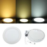 Cantik Panel Lampu LED Ultra Tipis 18W Bentuk Bulat