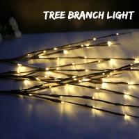 Terbaru Lampu String 20 LED Bentuk Ranting Pohon untuk Dekorasi