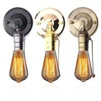 Terlaris Holder Socket Lampu Dinding Desain Sconce