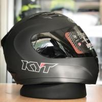 Helm KYT R10 Solid Black Doff original