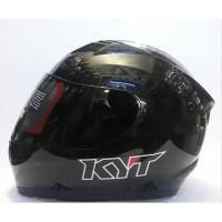 Helm KYT R10 Solid Black original