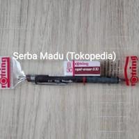 Paket Set Rotring Tikky: Mechanical Pencil 0.5mm + Eraser