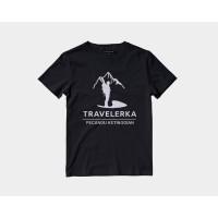 Vallenca Kaos Gunung Travelerka Pecandu Ketinggian Hitam Original