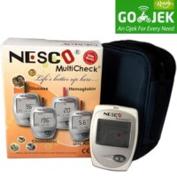 Dijual Alat Nesco Multicheck 3in1 GCU (Gula Darah,Colestrol,Asam Urat)