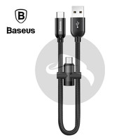 BASEUS U-SHAPED MICRO USB TYPE C KABEL DATA POWERBANK FAST CHARGING