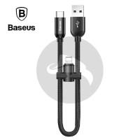 BASEUS U-SHAPED LIGHTNING TYPE C KABEL DATA POWERBANK FAST CHARGING