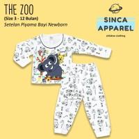 Baju Setelan Piyama Anak Bayi Lengan Panjang - The Zoo