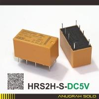 Relay HKE 5V DC 1A 8 Pin HRS2H Relay 8 Kaki 5V