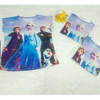 Kaos Anak Frozen Scuba Import usia 2-3 Tahun