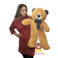Bonekabandung boneka beruang 80cm polkadot