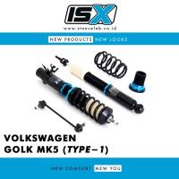 ISX Coilover - Volkswagen (VW) Golf MK5 (Type-1)