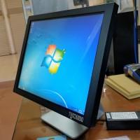 All In One Touchscreen 17 inch + Standing Pendek Desktop