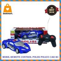 Mainan Anak Laki laki-Mobil Remote Control Polisi Police Car RC