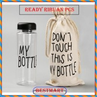 My Bottle Colour / Infused Water Fruit / Botol Minum Anak +FREE POUCH