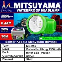 senter kepala selam nyelam / headlamp diving