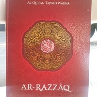 Al Quran lansia Ar razaq Hc A3