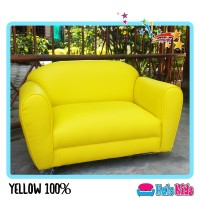 Sofa Mini Anak Oscar Yellow 100% Hartono Kirim Siantar