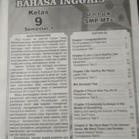 Jual Buku Smp Kelas 3 Buku Lks Bahasa Inggris Kelas 9 Semester 1 Jakarta Timur Malikapradana Tokopedia