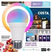COSTA SMART LIGHT BULB Bohlam RGB Lampu Rumah Wifi 10W Alexa WLB1