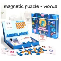 Zoetoys Magnetic Puzzle - Words | mainan edukasi | mainan anak