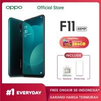 OPPO F11 Smartphone 4GB/128GB - Marble Green (Garansi Resmi)